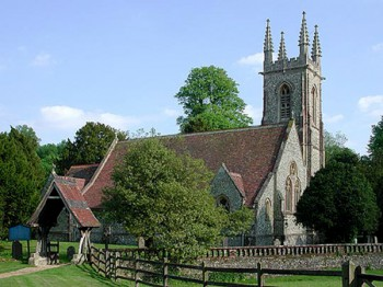 Photo of St. Nicholas Church, Chawton