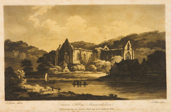 wordsworth tintern abbey as a thesis poem Tintern abbey as the last poem of lyrical ballad is a poem which was written in five parts, and in 160 lines it was written in blank verse which comprised verse paragraph rather than stanza.
